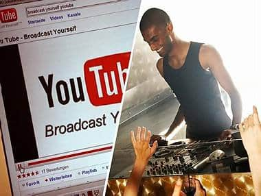 DJ, YouTube