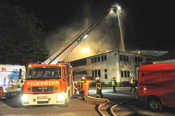 Großbrand in Burscheid