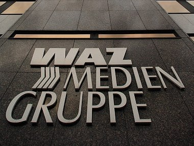 WAZ-Mediengruppe in Essen