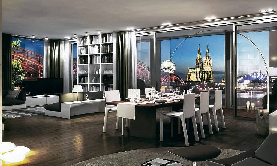rheinpark pavillon in deutz bester blick auf den k lner. Black Bedroom Furniture Sets. Home Design Ideas