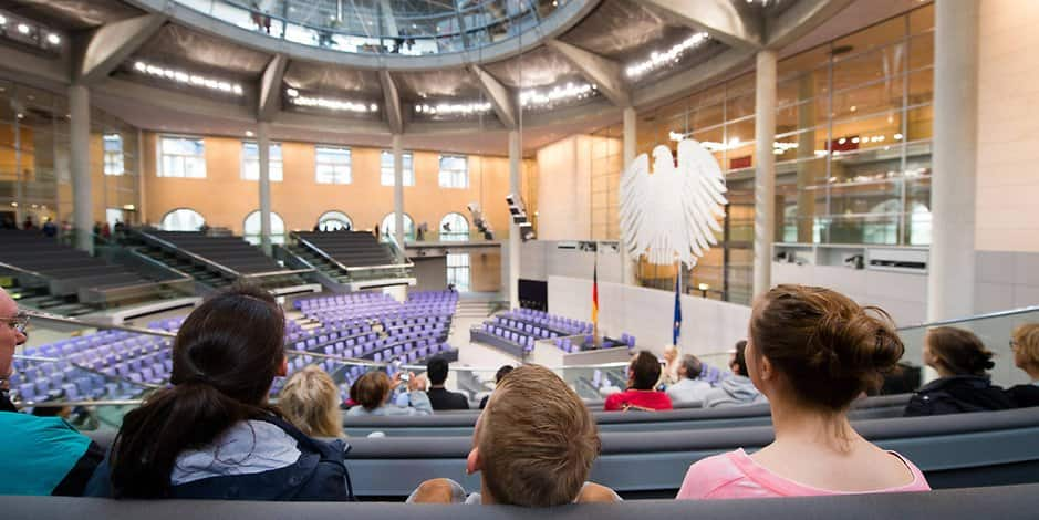 Kinder im bundestag