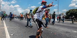 Demonstranten Venezuela
