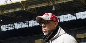 Peter Stöger in Dortmund