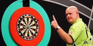 Michael van Gerwen Darts Getty Images