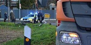 Unfall in Bedburg