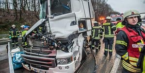 UnfallA1Burscheid