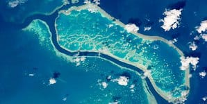 Great Barrier Reef ISS