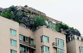 Illegale Architektur in China