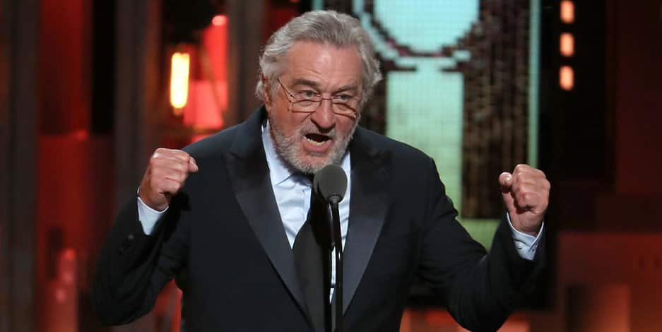 Robert De Niro flucht bei den Tony Awards über Donald Trump