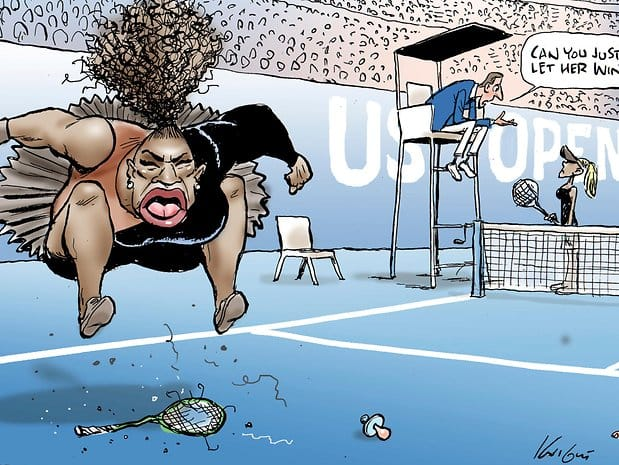 Herald Sun, Serena Williams