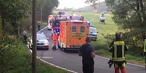 Unfall in Hennef 2
