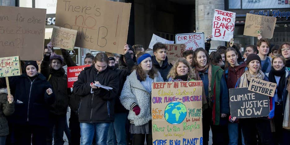 Fridays for Future: 1400 Teilnehmer bei Demonstration in Krefeld
