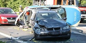weseling unfall polizei mkl 1a