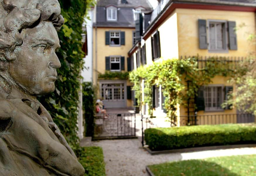 bust beethoven birthplace