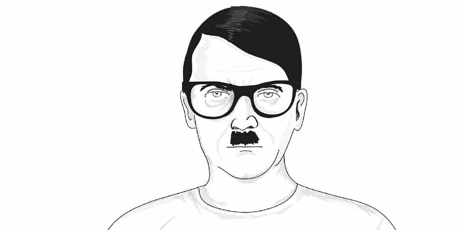 hipster hitler visits the - photo #36