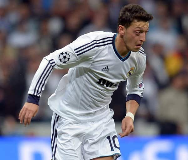 Mesut Özil im Dress von Real Madrid.