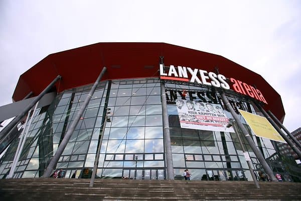 Lanxess-Arena in Köln.
