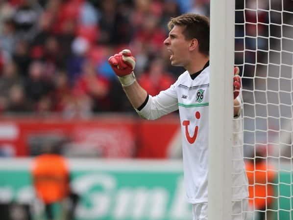 Nationaltorwart Ron-Robert Zieler.