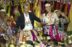 William Kate Asienreise