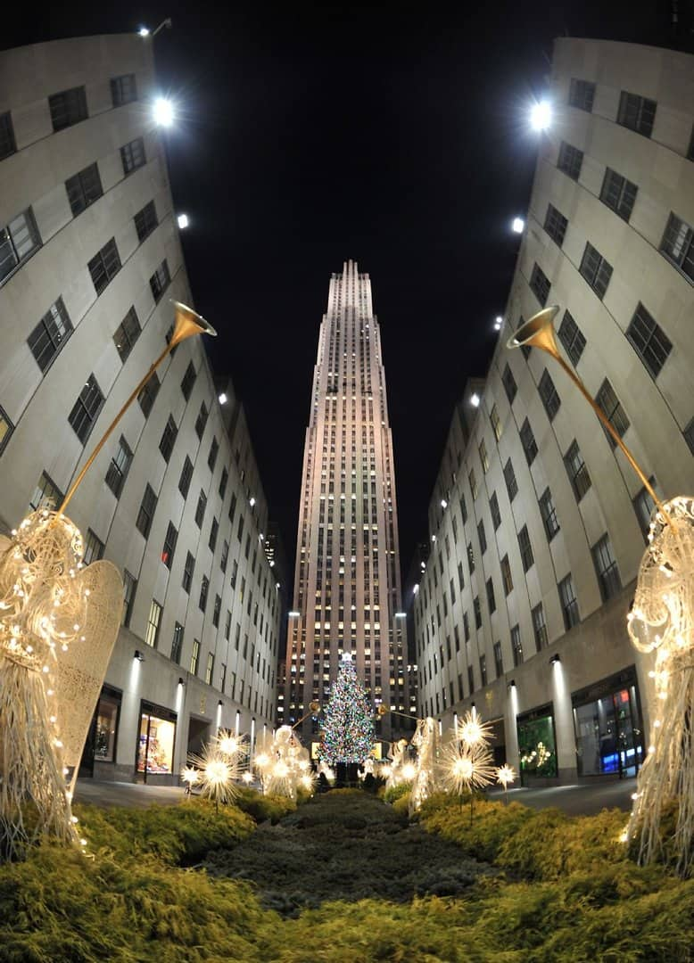 rockefeller center weihnachtssaison in new york er ffnet. Black Bedroom Furniture Sets. Home Design Ideas