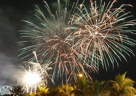 Happy New Year in Manila (Philippinen)