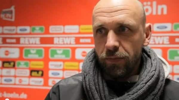 Holger Stanislawski im YouTube-Video des 1. FC Köln.